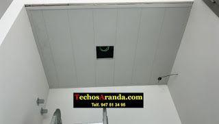 Especialista techos de aluminio acústicos parara baños