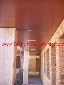 Especialista venta techos de aluminio acústicos