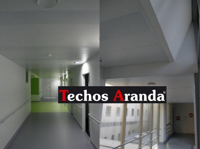 Especialistas empresa techos aluminio acústicos decorativos