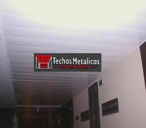 Especialistas lamas techos aluminio lacados
