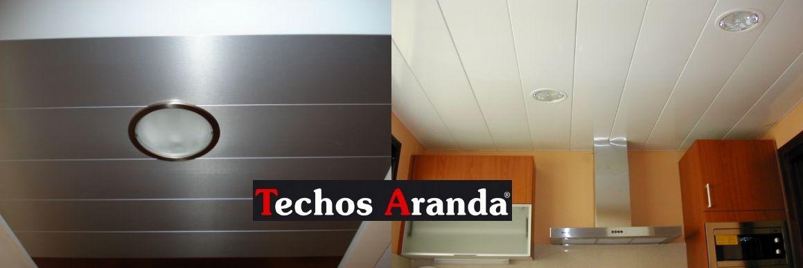 Especialistas montadores techos de aluminio desmontables decorativos