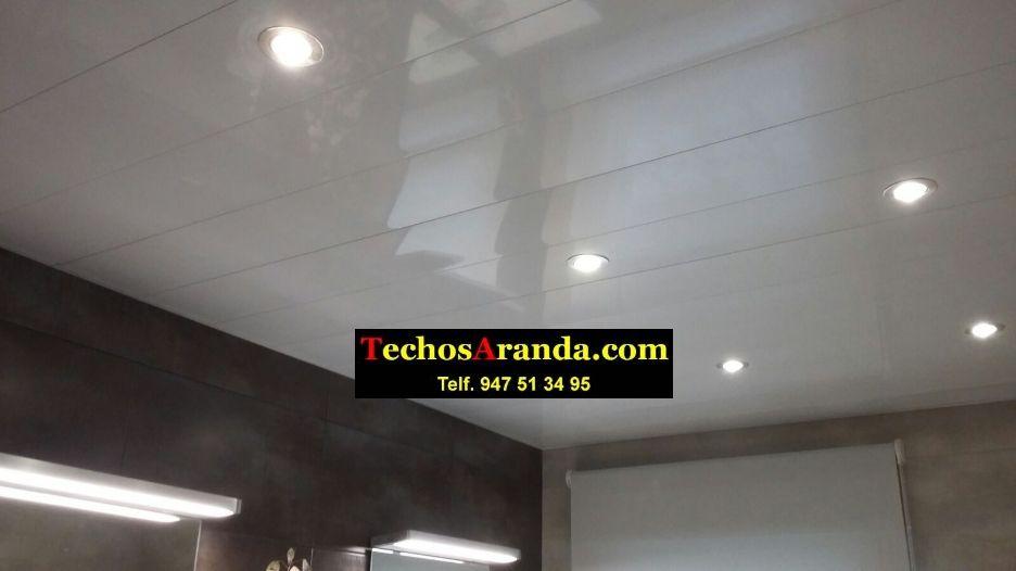 Especialistas montajes techos aluminio lacados