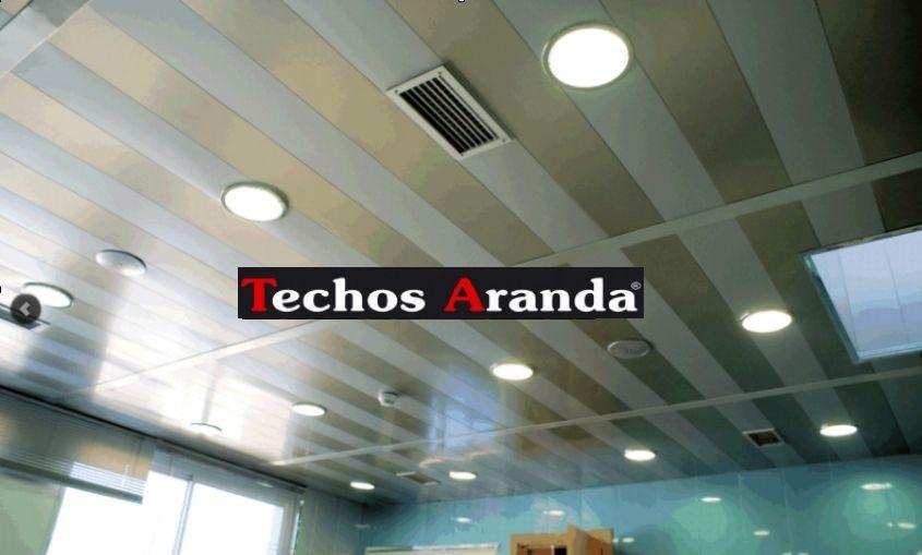 Especialistas techos de aluminio acústicos decorativos para cocinas