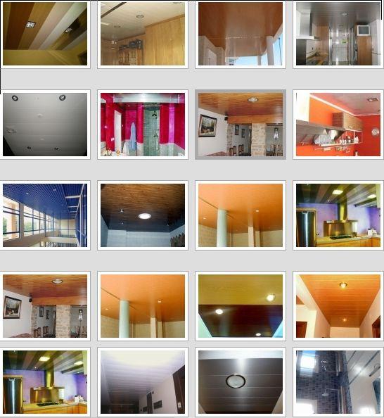 Fabrica techos aluminio acústicos decorativos