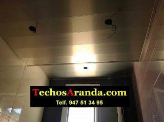Fabricante de falsos techos aluminio acústicos decorativos
