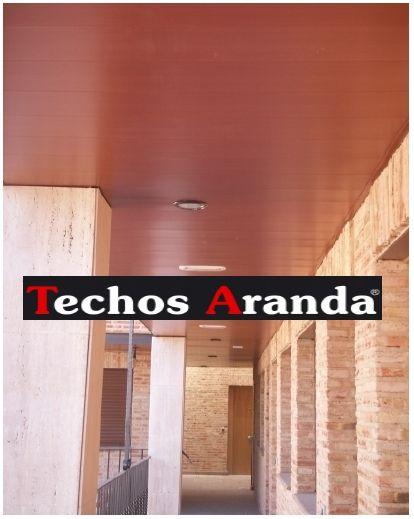 Fabricante techos aluminio acústicos decorativos