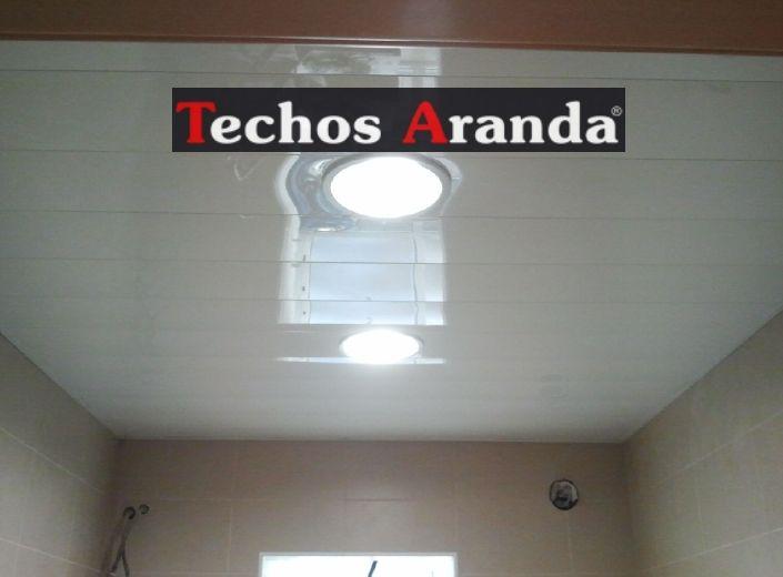Falso techo lamas aluminio acústicos decorativos
