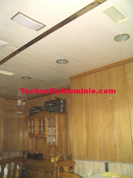 Foto de ofertas techos aluminio acústicos decorativos