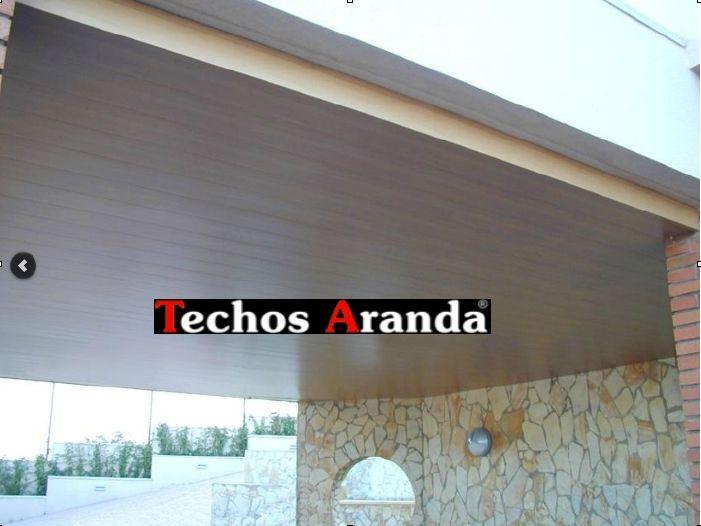 Foto techos de aluminio acústicos decorativos