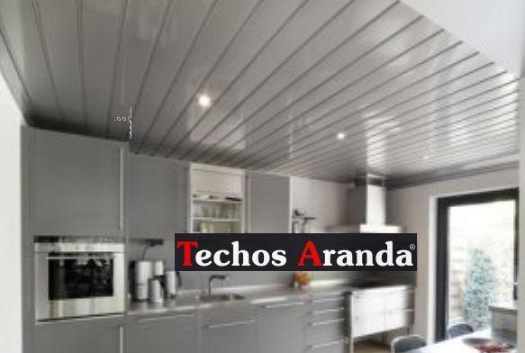 Foto techos de aluminio registrables decorativos
