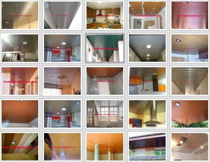 Fotografia de instaladores de techos de aluminio acústicos decorativos