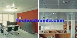 Fotografia de ofertas techos aluminio acústicos decorativos