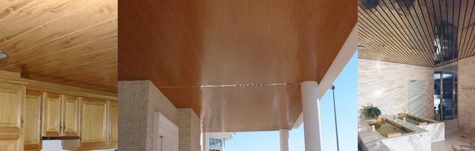Fotografia de techos de aluminio acústicos decorativos para baños