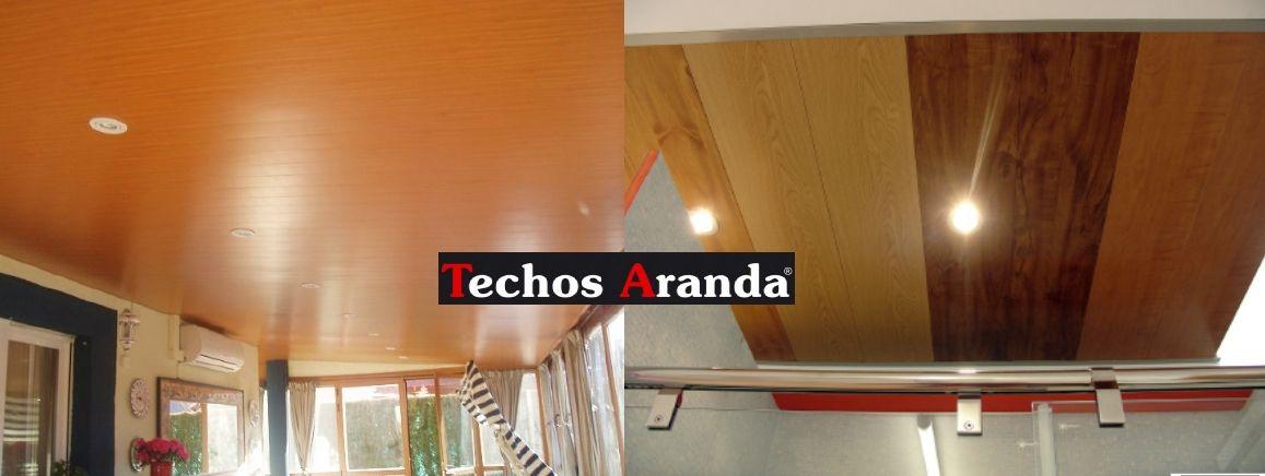 Fotografia de techos de aluminio acústicos decorativos para cocinas