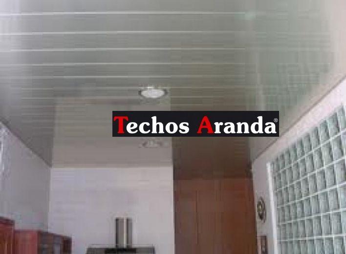 Fotografia de techos de aluminio registrables decorativos para baños