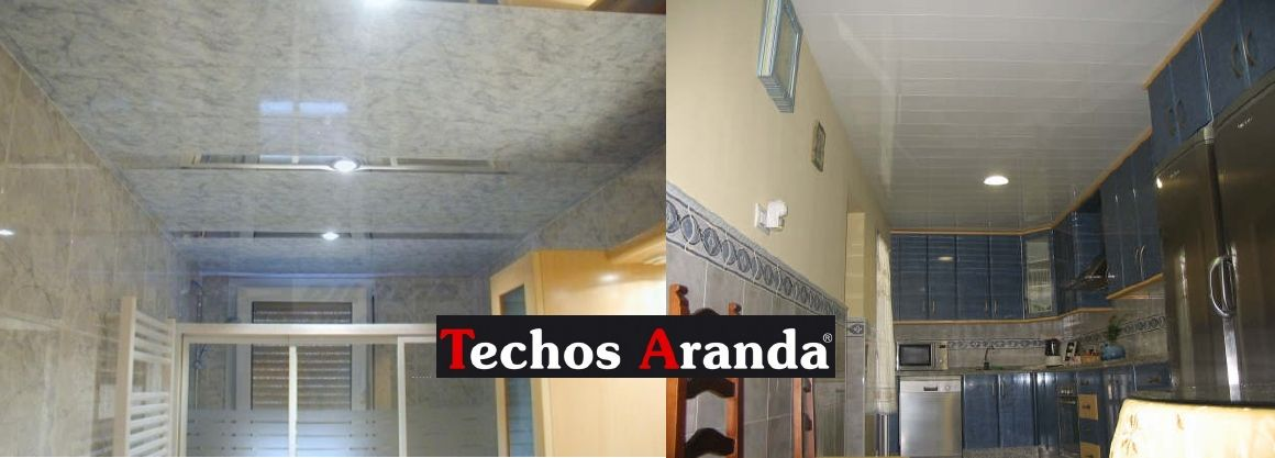 Fotografia techos de aluminio desmontables decorativos