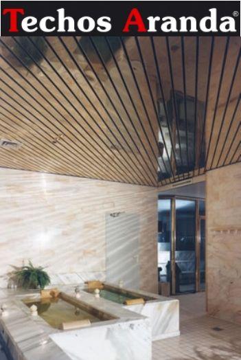 Fotos techos de aluminio registrables decorativos