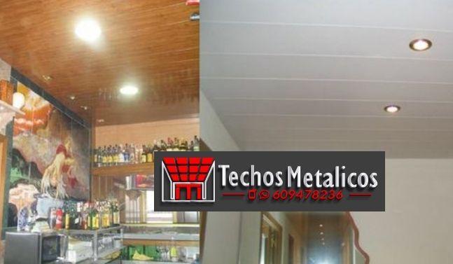 Imagen de falsos techos aluminio lacados