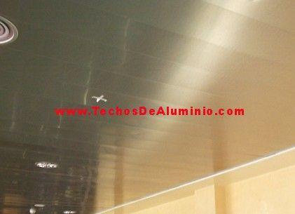 Imagen de montadores techos de aluminio acústicos