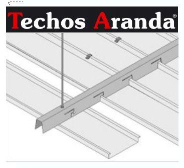 Imagen de montaje techos aluminio desmontables decorativos