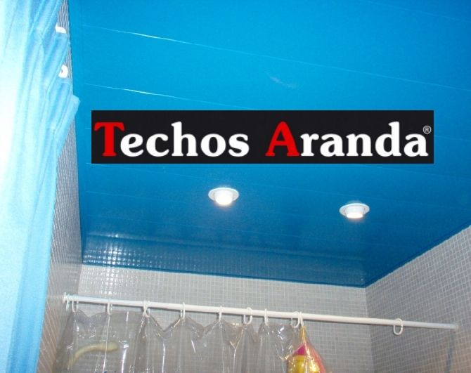Imagen de techo de aluminio acústico decorativo para baño