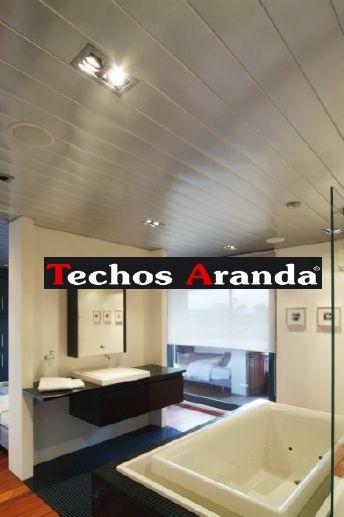 Imagen de techos de aluminio registrables decorativos para baños