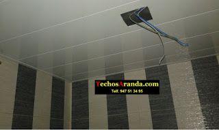 Imágenes de techos de aluminio acústicos decorativos para baños