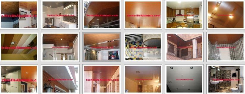 La mejor oferta techos de aluminio acústicos decorativos