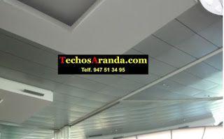 Lamas de aluminio para techos acústicos decorativos