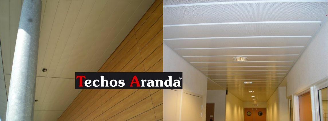 Negocio Local de techos de aluminio desmontables decorativos
