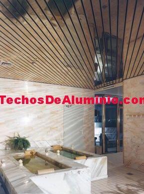 Negocio de montaje techos aluminio registrables decorativos