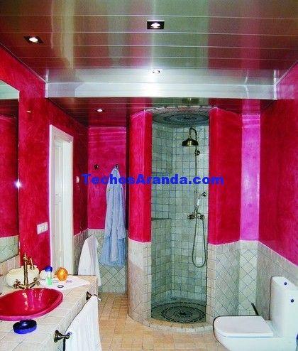 Negocio de techos de aluminio acústicos decorativos para baños