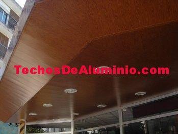 Negocio de venta techos de aluminio acústicos decorativos