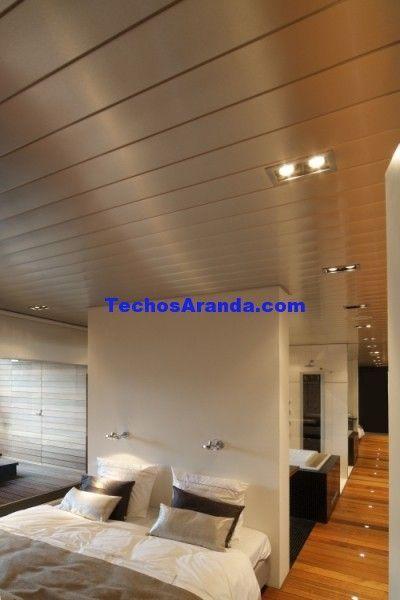 Negocio local de montadores techos de aluminio lacados