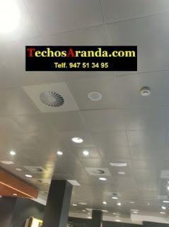 Negocio local de montajes techos aluminio acústicos decorativos