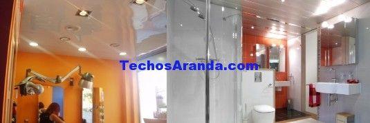 Negocio local de techos de aluminio acústicos decorativos para baños