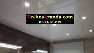 Negocio local techos de aluminio acústicos decorativos para baños