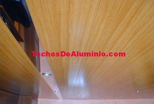 Negocio local techos de aluminio acústicos para baños