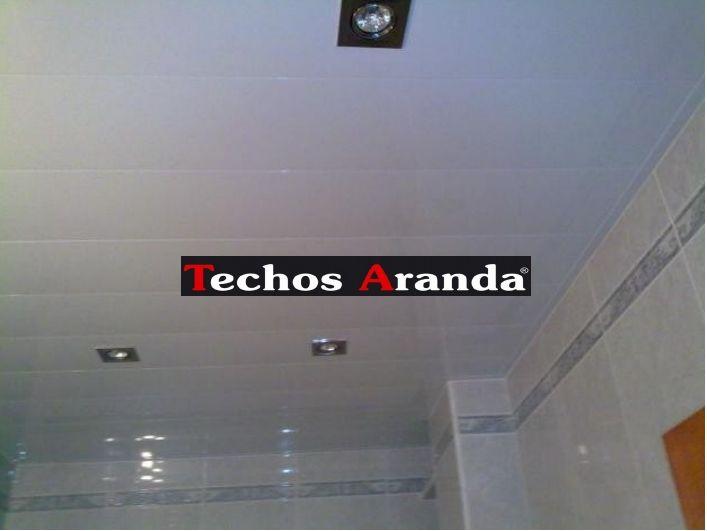 Negocio local techos de aluminio registrables decorativos para baños