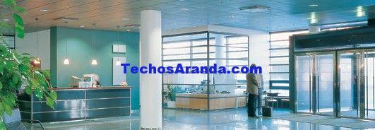 Oferta de empresa techos aluminio acústicos decorativos