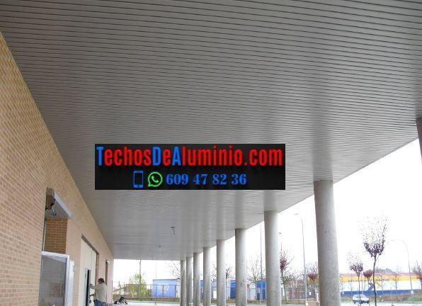Oferta de falsos techos aluminio lacados