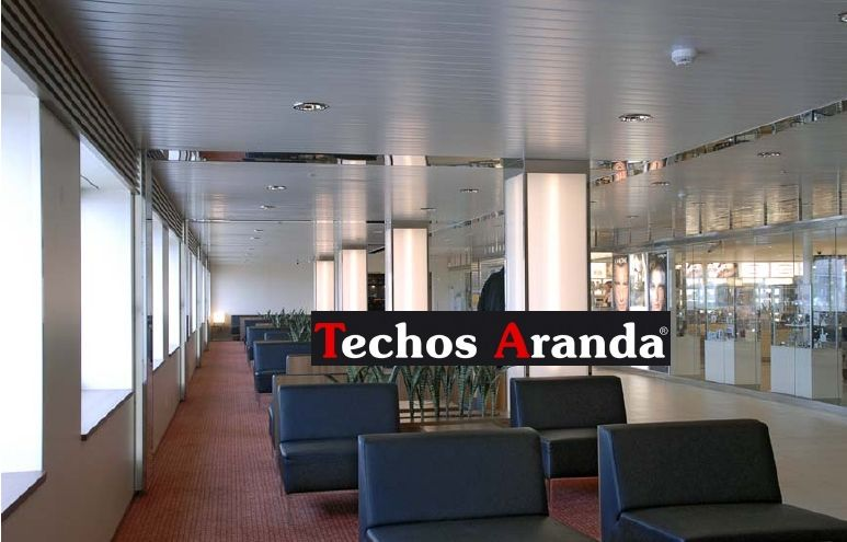 Oferta de ofertas techos aluminio acústicos decorativos