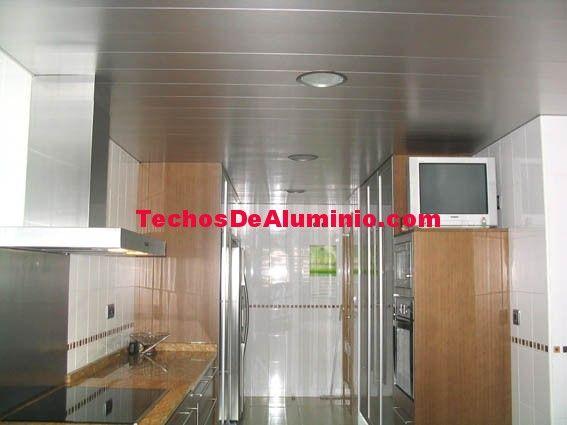 Oferta de techos de aluminio acústicos decorativos para cocinas