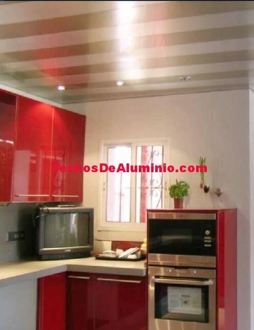 Oferta de techos de aluminio registrables decorativos para baños