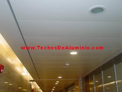 Oferta de venta techos de aluminio acústicos