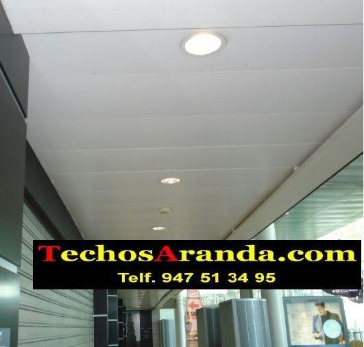 Oferta económica empresa techos aluminio decorativos