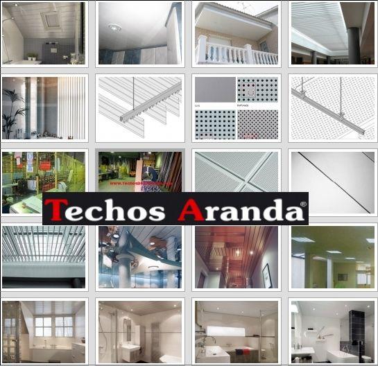 Oferta economica falsos techos aluminio desmontables decorativos