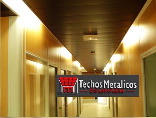 Oferta economica falsos techos aluminio lacados