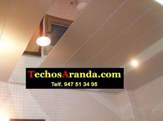 Oferta economica falsos techos aluminio registrables decorativos