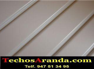 Oferta económica techos aluminio acústicos